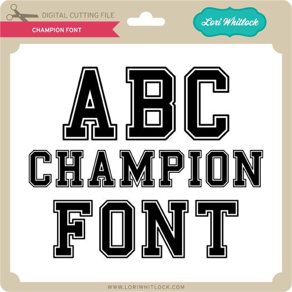 Champion Font