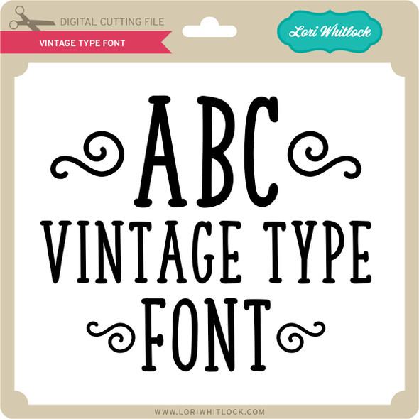 Vintage Type Font
