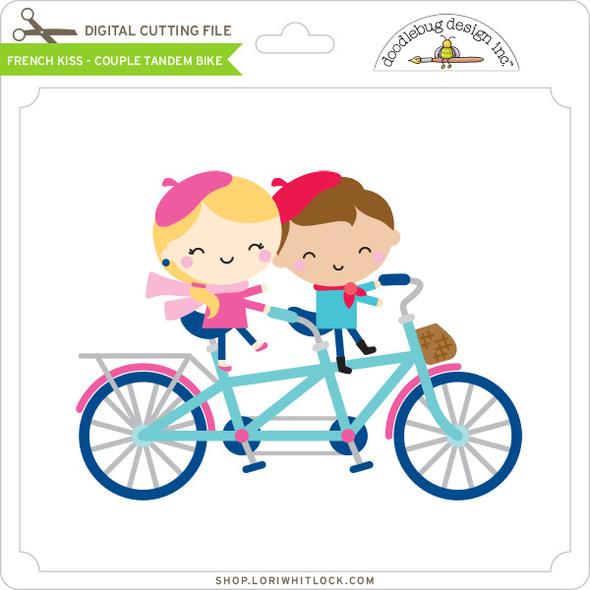 French Kiss - Couple Tandem Bike