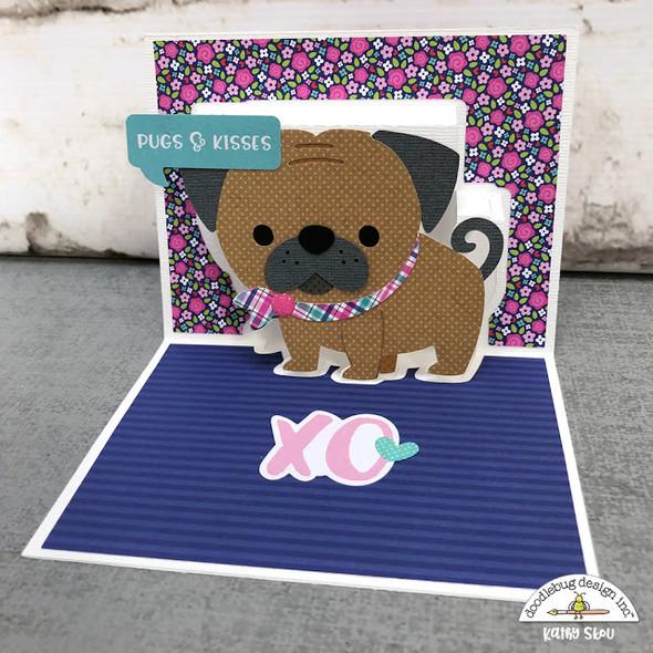 French Kiss - Pug