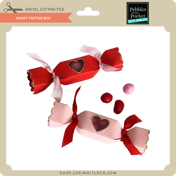 Heart Tootsie Box