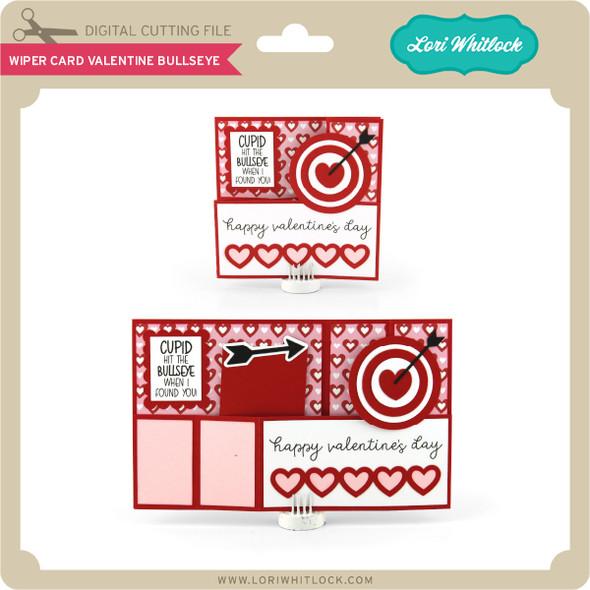 Wiper Card Valentine Bullseye