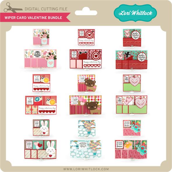Wiper Card Valentine Bundle