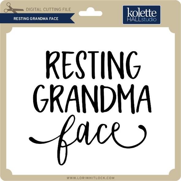 Resting Grandma Face 2