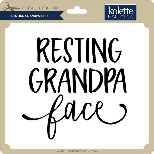 Resting Grandpa Face 2