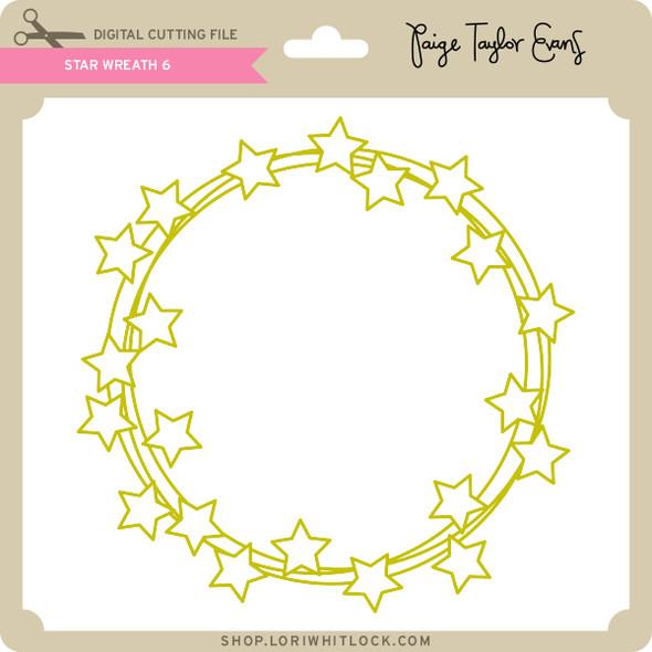 Star Wreath 6