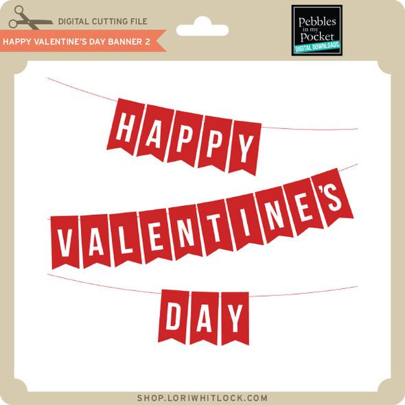 Happy Valentine's Day Banner 2