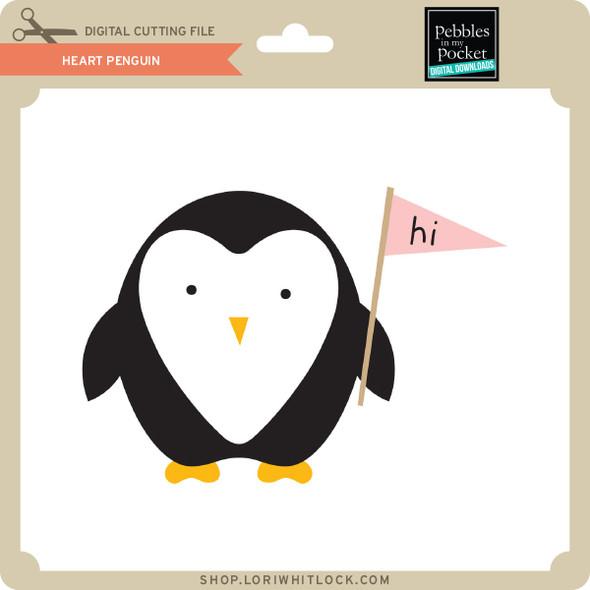Heart Penguin
