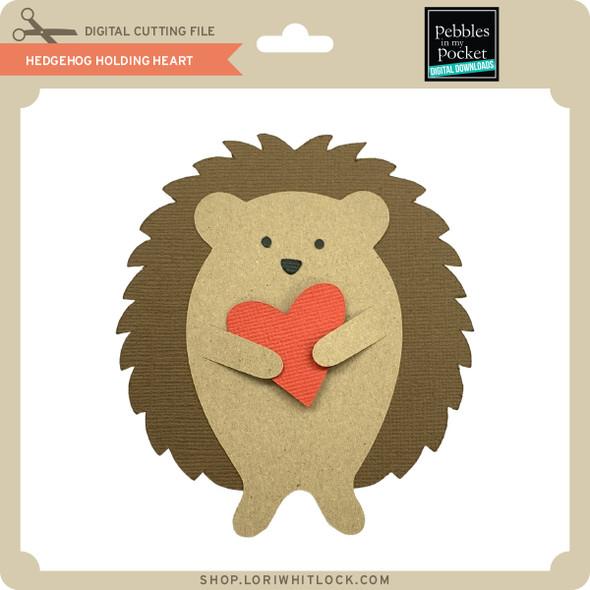 Hedgehog Holding Heart