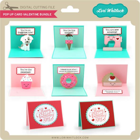 Pop Up Card Valentine Bundle