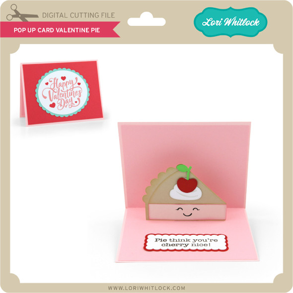 Pop Up Card Valentine Pie