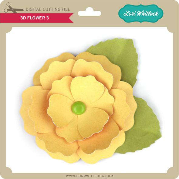 3D Flower 3