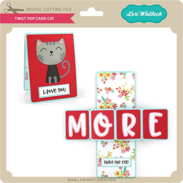 Twist Pop Card Cat