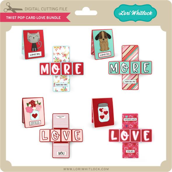 Twist Pop Card Love Bundle
