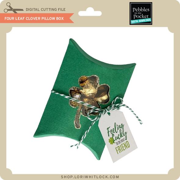 Four Leaf Clover Pillow Box