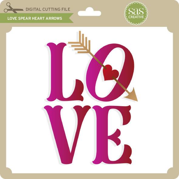 Love Spear Heart Arrows
