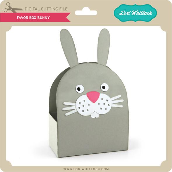 Favor Box Bunny