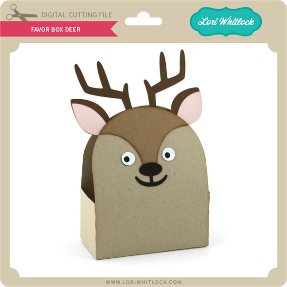Favor Box Deer