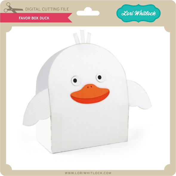 Favor Box Duck