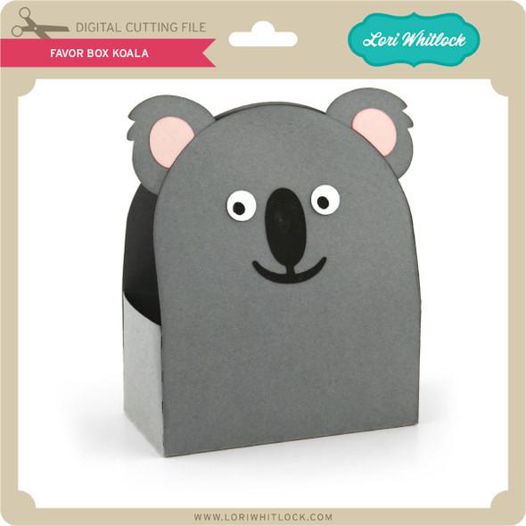 Favor Box Koala