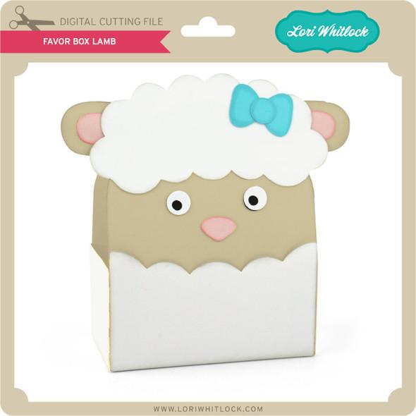 Favor Box Lamb