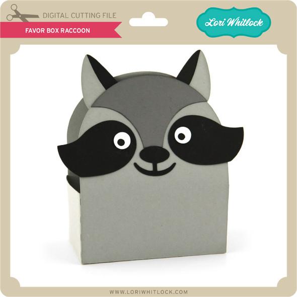 Favor Box Raccoon