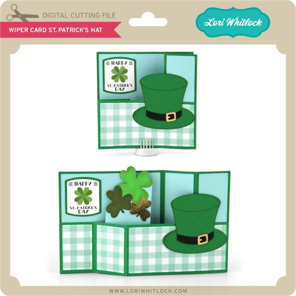 Wiper Card St Patrick's Hat