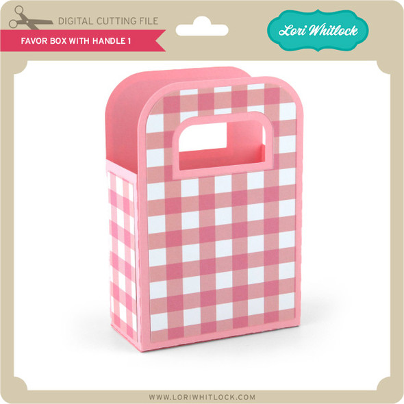 Favor Box With Handle 1