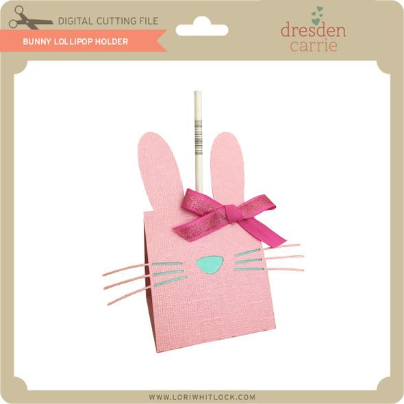 Bunny Lollipop Holder