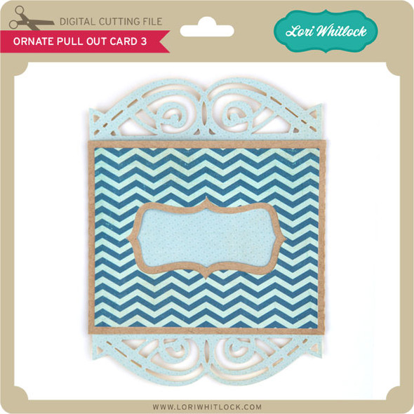 Ornate Pull Out Card 3
