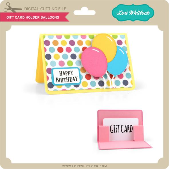 Gift Card Holder Balloons