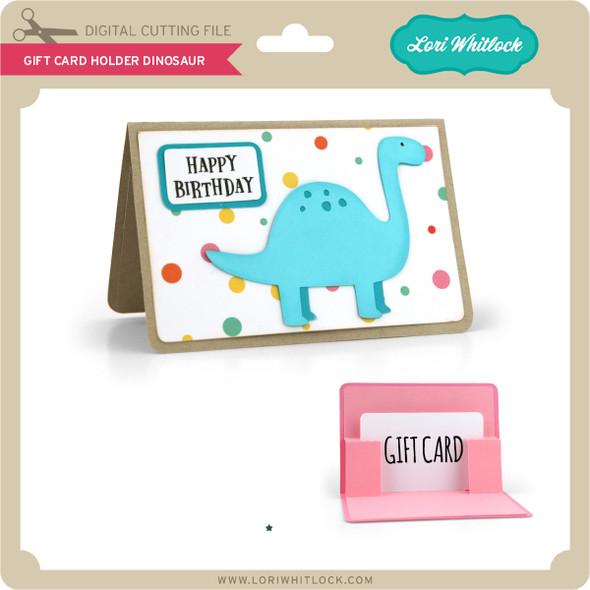Gift Card Holder Dinosaur