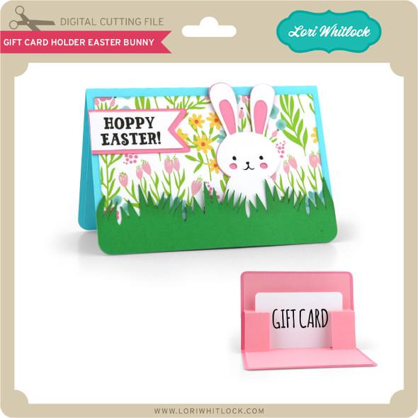 Gift Card Holder Easter Bunny