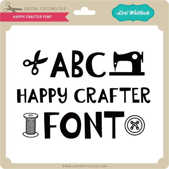 Happy Crafter Font