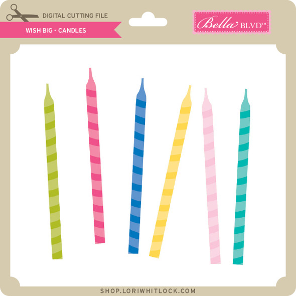 Wish Big - Candles