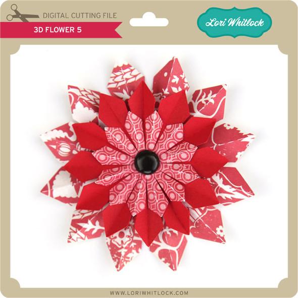 3D Flower 5
