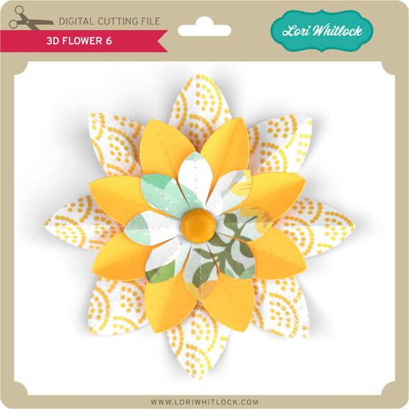 3D Flower 6
