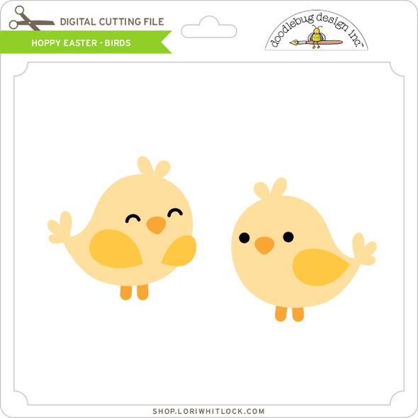 Hoppy Easter - Birds