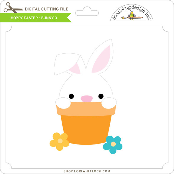 Hoppy Easter - Bunny 3