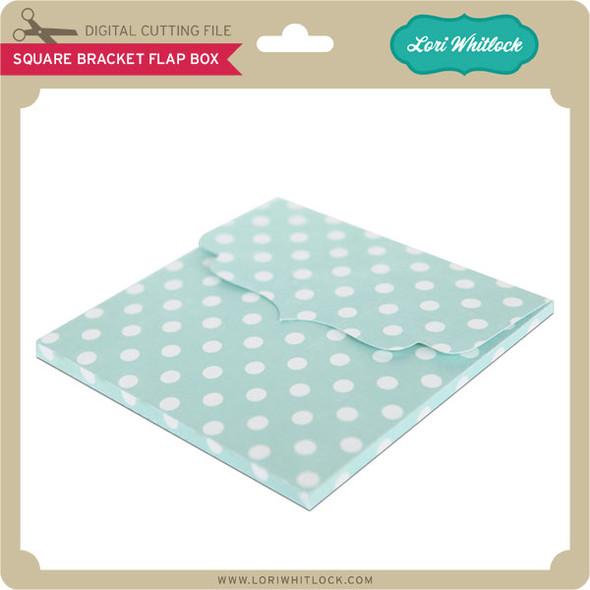 Square Bracket Flap Box