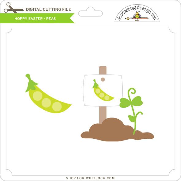 Hoppy Easter - Peas