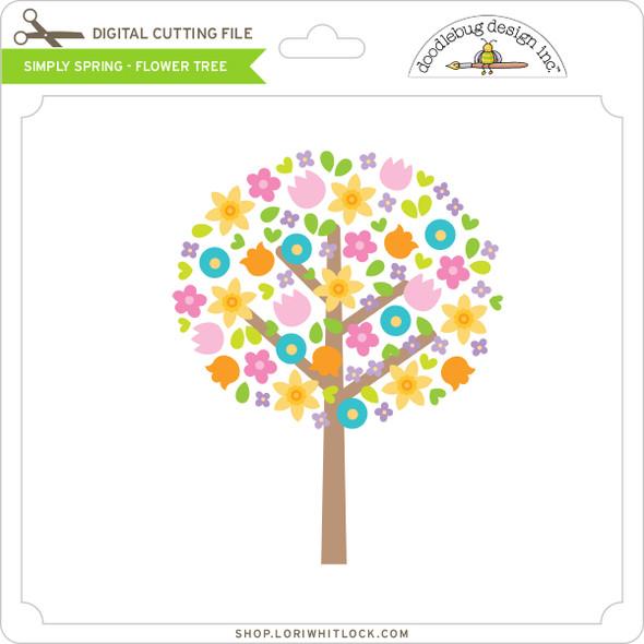 Simply Spring - Flower Tree