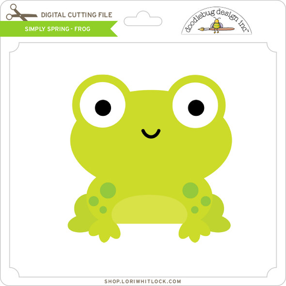 Simply Spring - Frog