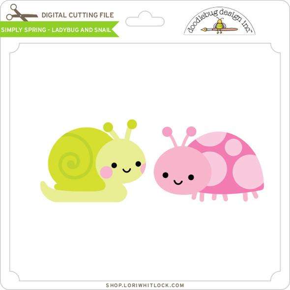 Simply Spring - Ladybug and Snail