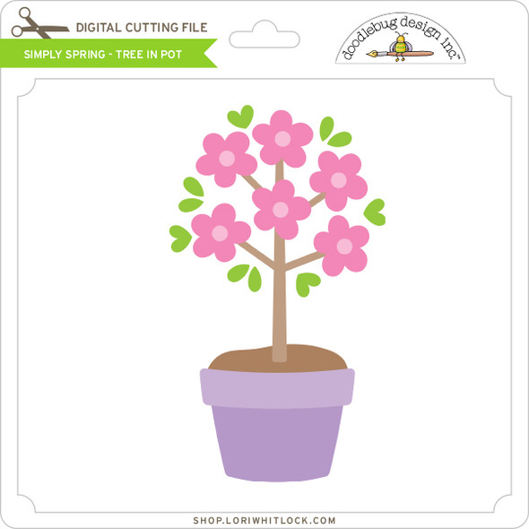Simply Spring - Tree in Pot