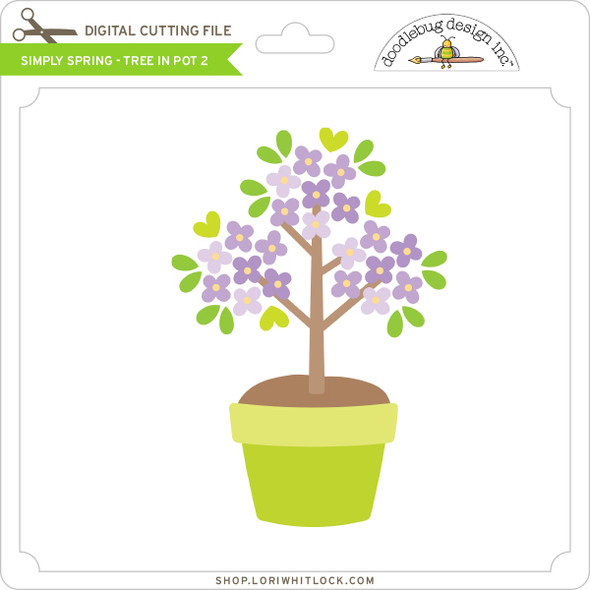 Simply Spring - Tree in Pot 2