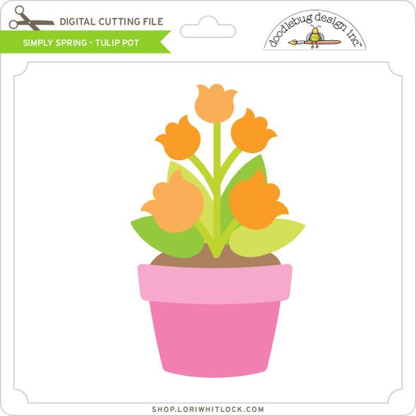 Simply Spring - Tulip Pot