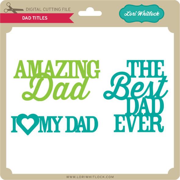 Dad Titles