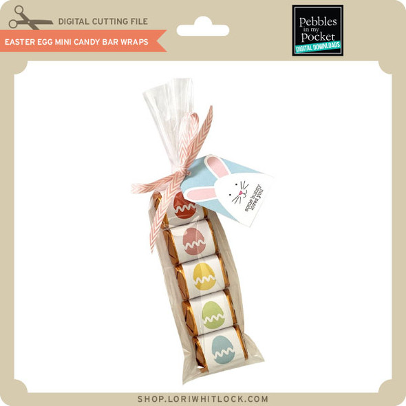 Easter Egg Mini Candy Bar Wraps