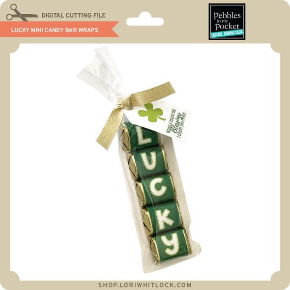 Lucky Mini Candy Bar Wraps